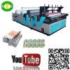 Tecido automático cheio do rolo do aparamento da borda que faz o preço da máquina
