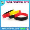 Wristband a buon mercato segmentato caldo del silicone di vendita con Debossed (TH-8479)