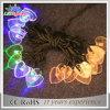 Luzes feericamente da corda do feriado do diodo emissor de luz da corda Multicolor da estrela do Natal