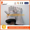 自然な牛分割された溶接作業手袋Dlw610