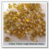 Синтетический неграненый алмаз, Light - желтое Diamond, Good Price Diamond