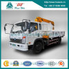 Camion di Cdw 4X2 con la gru di Xugong di 3 tonnellate