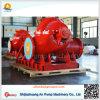 Pompe à eau centrifuge de double aspiration de pompe fendue horizontale de cas