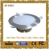 aluminium d'or LED Downlight d'approbation de la CE 7W