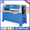 Máquina de corte plástica dura barata hidráulica da imprensa da folha (hg-b30t)