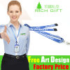 Custom en gros Printing Multi-Color Polyester Lanyard sans Minimum Order