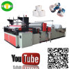Tecido de toalete de alta velocidade do rebobinamento que faz o equipamento da máquina