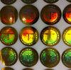 Etiqueta de la Anti-Falsificación, etiqueta del holograma, De-Matalized Hologram Label