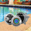 DEL sous-marine Swimming Pool Light RVB avec Stainless Steel Niche