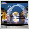 a luz da decoração do Natal 110V/220V, Natal ao ar livre arqueia a luz