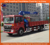 Pick와 Carry Crane를 위한 6tons Foton Lorry Mounted Crane