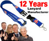 BerufsManufacturer von Lanyard mit Logo Design