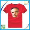 T-shirt de campagne d'élection de voix d'impression de qualité