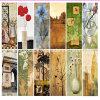 가정 Deco 손 유화 화포를 인쇄하는 꽃 화포