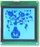 128128 blauwe Industrie LCD