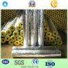 Pipe de laine de verre d'isolation thermique avec le papier d'aluminium pour le matériau de construction