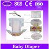Couche-culotte de bébé avec Tissu-Comme la bande inférieure de Film&Velcro