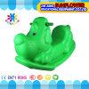 Jouet de oscillation en plastique de forme de crabot, balançoir en plastique animale, jouet de oscillation en plastique, cheval d'oscillation