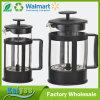 diseño del crisol del té del café del vidrio de 350ml 800ml 1000ml Pyrex