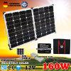 Nuevo 12V 160W del mono panel solar monocristalino de la rejilla