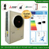 - bomba de calor Evi da fonte de ar da água quente 12kw 220V R407c Monoblock de aquecimento de assoalho Room+55c do tempo do inverno 25c