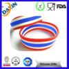 Various Styles Silicone Rubber Wristbands with Debossed Printing Logo