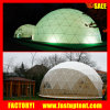 テントの贅沢なサファリのテントのための鋼鉄測地線ドームのテントに電流を通しなさい