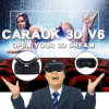 Caraok V6 3D Mobile Theater 1080P Vr 3D Glasses