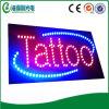 高リゾリューションのアクリルの文字の屋内生気に満ちた入れ墨LEDの印