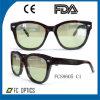 Occhiali da sole Handmade dell'acetato degli occhiali da sole con i vetri di alta qualità