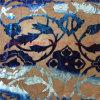 Queimar o veludo de seda pintado mão