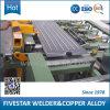Cadena de producción inmersa en aceite de la soldadora de los radiadores del transformador de la distribución