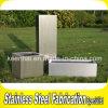 屋外のステンレス鋼の庭プランターボックス長方形の植木鉢