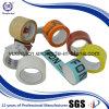 para el cartón que sella la cinta adhesiva piezosensible transparente