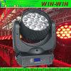 lumières principales mobiles du zoom 19LEDs avec le moteur trois