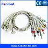 Compatible para electrodos de una sola pieza del cable Banana4.0 del plomo ECG EKG del ajuste II de Philips los 10