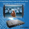 Монитор LCD открытой рамки 15 металла