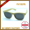 2015 Natural Bamboo Sunglasses with Custom Logo Lasered F15076