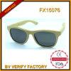 Natürliche Bambussonnenbrillen mit kundenspezifischem Firmenzeichen Lasered Fx15076