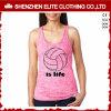 Parti superiori di serbatoio alla moda di colore rosa di svago di nuovo disegno per le ragazze (ELTWBJ-433)