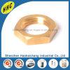黄銅H65 Cuzn35の六角形ナットの十六進ナット