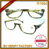 Diseñado R1664 Especial La mitad Frames Calidad de plástico gafas de lectura
