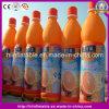 Heiße bekanntmachende vorbildliche aufblasbare Bier-Saft-Produkt-Replik-Flasche