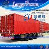 판매를 위한 3개의 차축 트럭 밴 유형 반 상자 트레일러