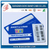 Superieur pvc Barcode Cards voor Discount