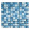 Mosaico della piscina, mattonelle della parete del mosaico, mosaico di cristallo