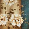 Pintura al óleo hecha a mano de la flor decorativa de Td006b