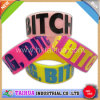 Hot Custom One Inch Wristband Silicone