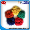 Alta qualità Dope Dyed PSF Recycled Polyester Staple Fiber in Solid Style 3D*32mm