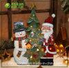 Polyresin Resin Kriss Kringle et Noël Ornament (NF360095) de bonhomme de neige